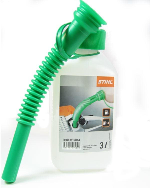 Kanystr na benzín průhledný 3l