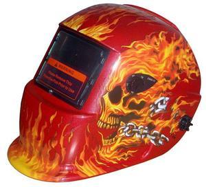 Svařovací kukla Alfa in S777 oheň