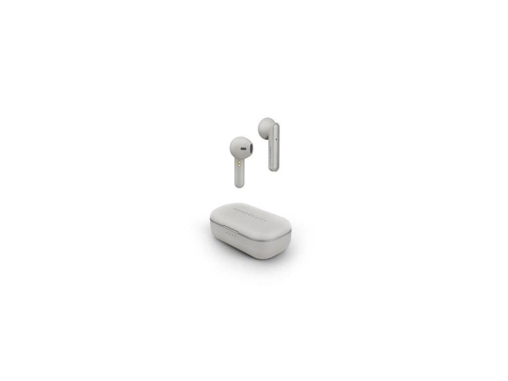 ENERGY Earphones Style 3 True Wireless Ivory, bezdrátové Bluetooth pecky pro absolutní svobodu při poslechu hudby
