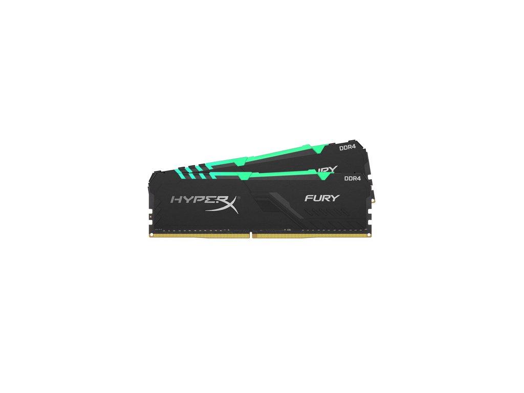 16GB DDR4-2666MHz CL16 HyperX Fury RGB, 2x8GB