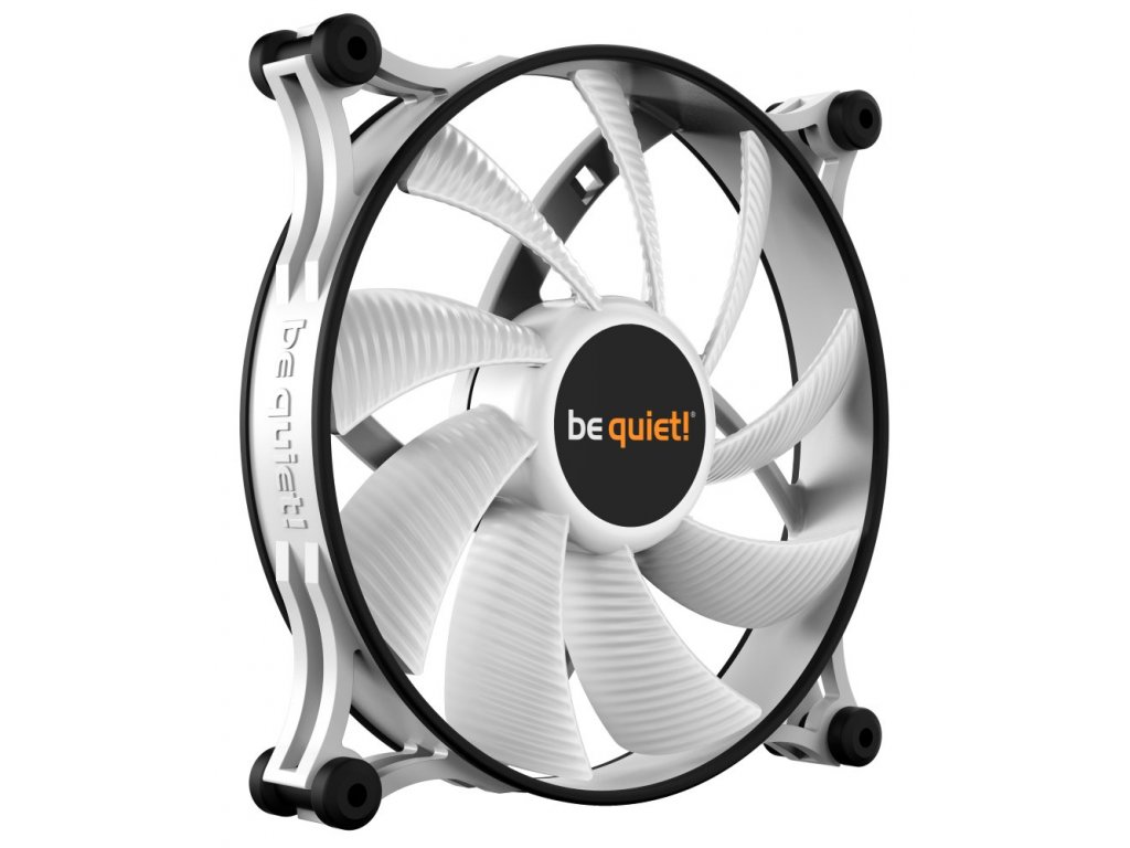Be quiet! / ventilátor Shadow Wings 2 White / 140mm / PWM / 4-pin / 14,9dBa
