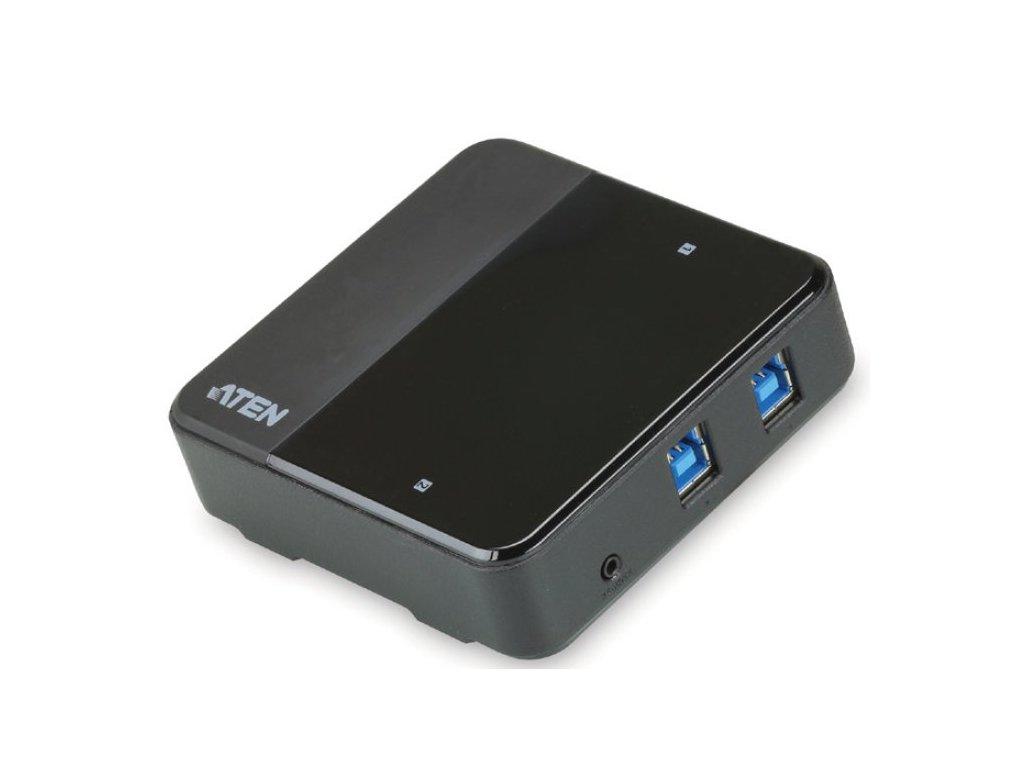 ATEN USB 3.0 přepínač periferií 2:4 - US-234