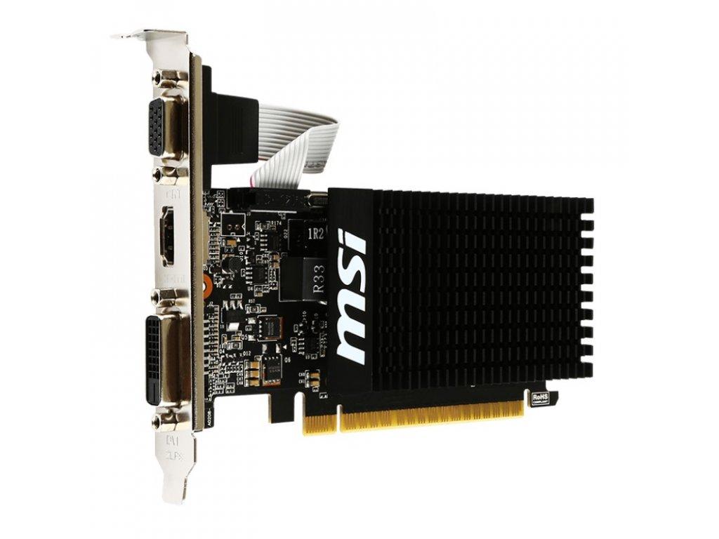 MSI N710 1GD3H LP / PCI-E / 1GB GDDR3 / DVI-D / HDMI / VGA