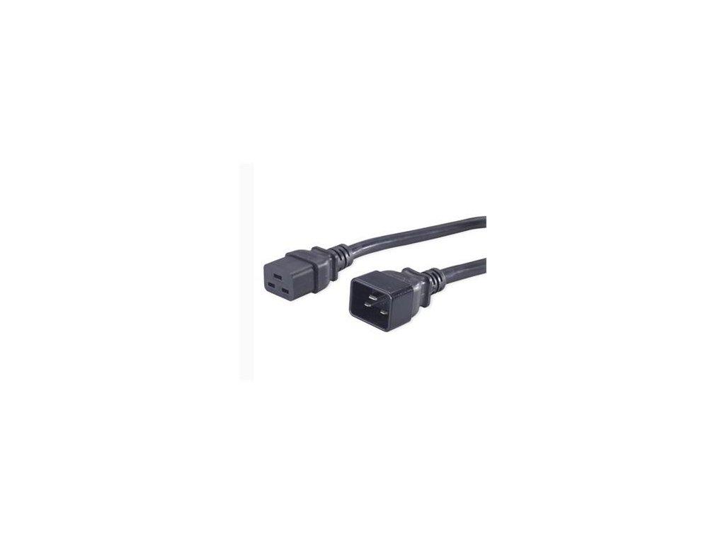 PREMIUMCORD napájecí 230V/16A prodlužovací 3m (konektory IEC 320 C19 - IEC 320 C20) (kpsa)
