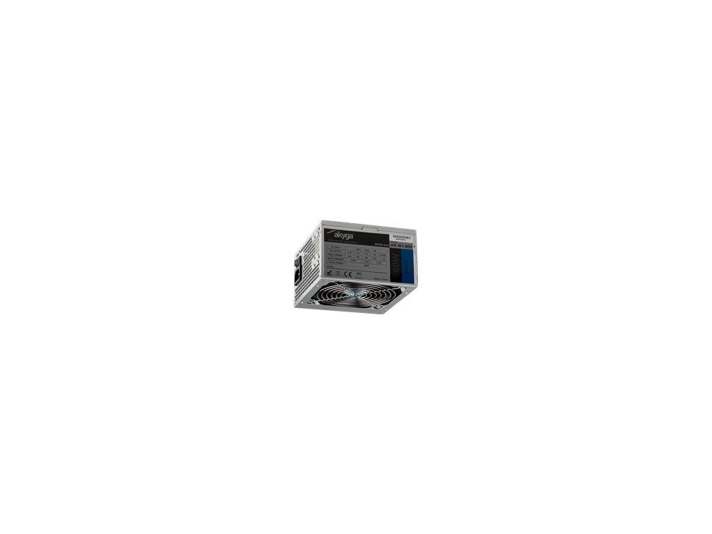 AKYGA AK-B1-600 Basic ATX Power Supply 600W AK-B1-600 Fan12cm P4 3xSATA PCI-E