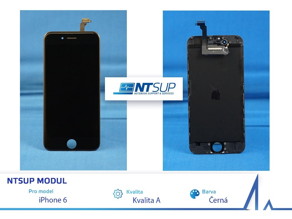 NTSUP LCD modul iPhone 6 černý kvalita A