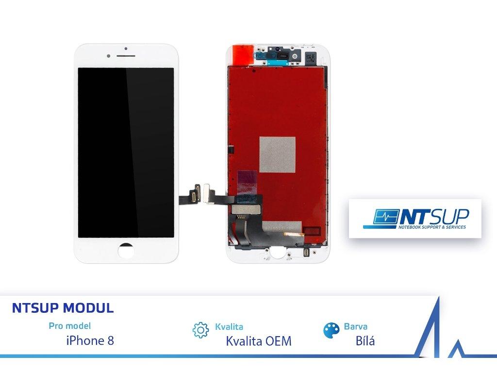NTSUP LCD modul iPhone 8 bílý kvalita B
