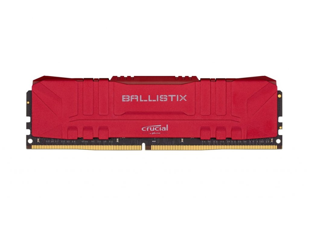 32GB DDR4 3000MHz Crucial Ballistix CL15 2x16GB Red