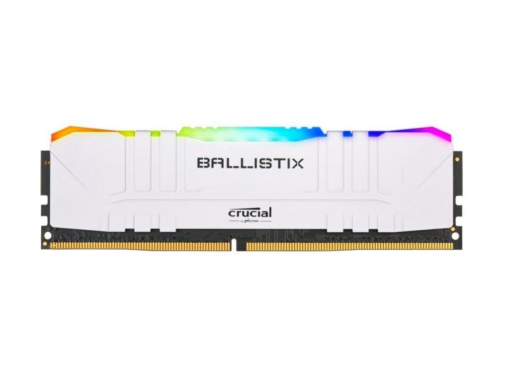 32GB DDR4 3000MHz Crucial Ballistix CL15 2x16GB White RGB
