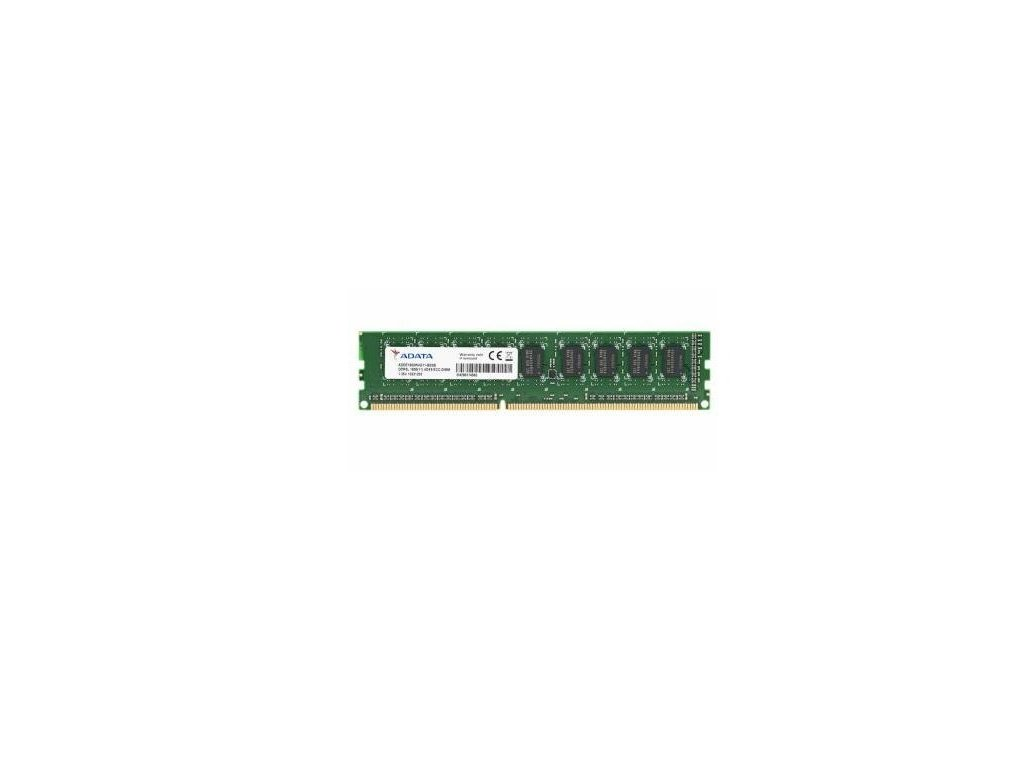 4GB DDR3L-1600MHz ADATA CL11 ECC 1,5 i 1,25V bulk balení
