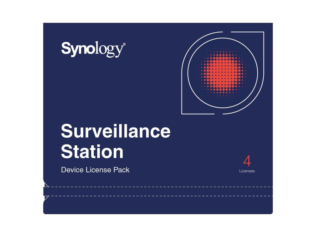 Synology DEVICE LICENSE (X 4) - kamerová licence, DEVICE LICENSE (X 4)
