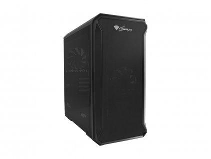 Počítačová skříň Genesis IRID 503 Mini-ATX, Micro-ITX (USB 3.0), 2x 120mm ventilátory