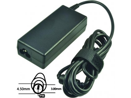 Napájecí adaptér 65W, 19,5V 4.5x3.0mm, originál DELL