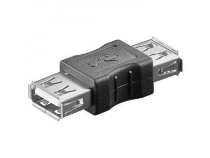 PremiumCord USB redukce A-A, Female/Female