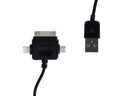 Whitenergy 09984 USB 2.0, 100cm, černý