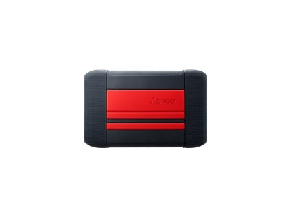 APACER AP1TBAC633R-1 External HDD Apacer AC633 2.5 1TB USB 3.1, shockproof military grade, Red