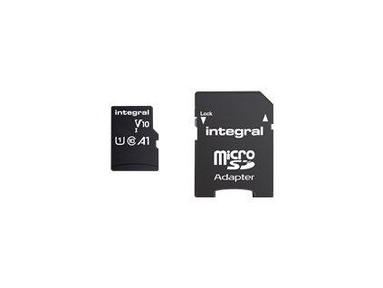 INTEGRAL INMSDH32G-100V10 INTEGRAL Paměťová karta micro SDHC 32GB 100V10, Read 100MB/s U1 V10 + ADAP