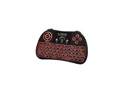 SAVIO KW-03 SAVIO KW-03 podsvícená bezdrátová klávesnice TV Box, Smart TV, konzole, PC