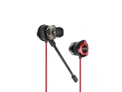 ENERGY Earphones ESG 1 Dual Driver, Speciální herní sluchátka v in-ear designu, všesměrový mikrofon, 112 ±3 dB