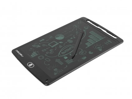 Natec Snail 10'' digitální zápisník pro kreslení a psaní, magnetický držák