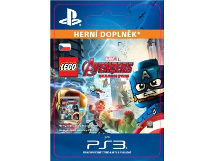 ESD CZ PS3 - LEGO® Marvel's Avengers Season Pass