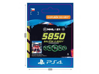 ESD CZ PS4 - NHL 21 – 5850 Points Pack