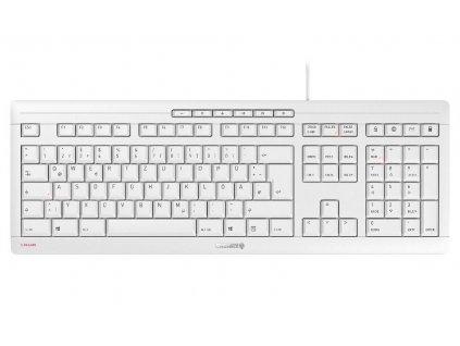 CHERRY klávesnice STREAM EU layout bílá