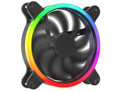 SilentiumPC ventilátor Corona HP EVO ARGB 140 / 140mm fan / ARGB LED / ultratichý