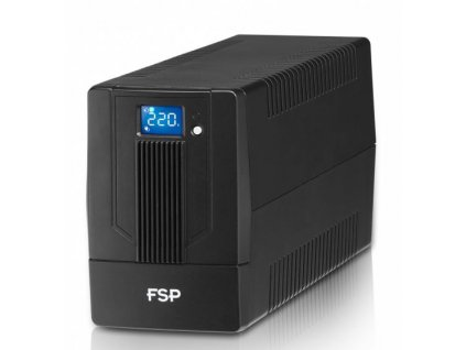 FSP/Fortron UPS iFP 600, 600 VA / 360W, LCD, line interactive