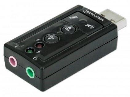 MANHATTAN Hi-Speed USB 3D 7.1 Sound Adapter