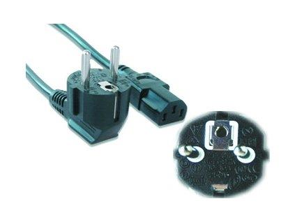 Síťový kabel VDE 220/230V, 10m napájecí