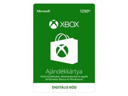 Microsoft Xbox Live předplacená karta 1200 HUF