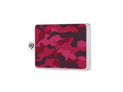 Seagate One Touch SSD 500GB, externí SDD, USB 3.0, magenta