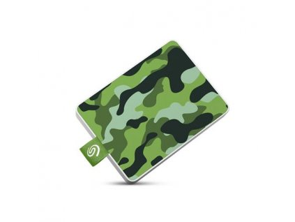 Seagate One Touch SSD 500GB, externí SDD, USB 3.0, green