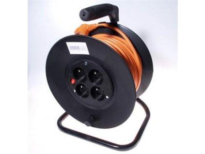 PremiumCord prodlužovací kabel na bubnu ppb-01-25 25m