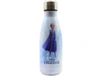 Puro Disney láhev z nerezové oceli FROZEN ELSA, single wall, 500ml Ice