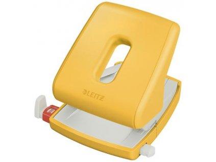 Děrovačka Leitz Cosy 30, teple žlutá