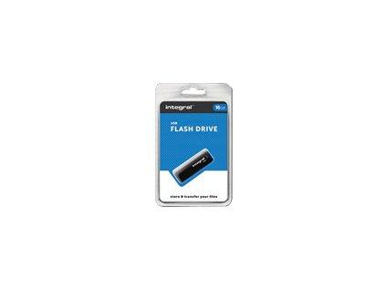 INTEGRAL INFD16GBBLK INTEGRAL USB flash disk USB 2.0 16GB s odnímatelným krytem černá
