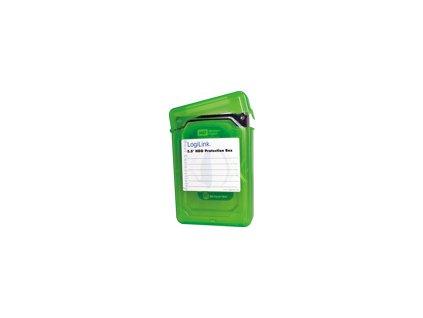 LOGILINK UA0133G LOGILINK - Ochranný box pro 3.5 HDD green