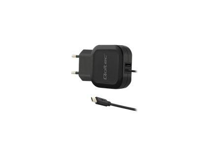 QOLTEC 50189 Qoltec AC adapter 17W 5V 3.4A USB+Micro USB
