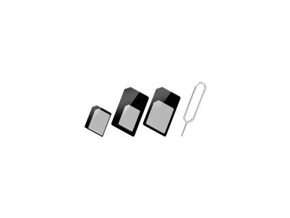 TECHLY 301535 Techly adaptér pro kartu SIM, nano-SIM, Micro-SIM
