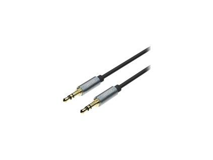 UNITEK Y-C922ABK Unitek Cable miniJack 3,5mm (M) - 3,5mm (M) TWIST Y-C922ABK