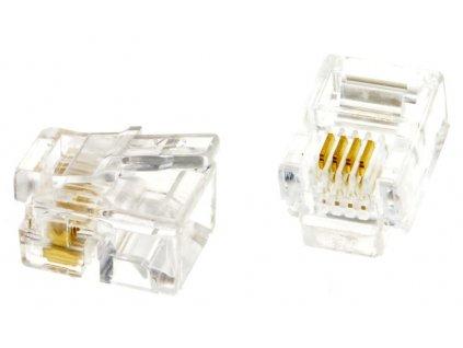 XtendLan Konektor tel. RJ11 6p4c