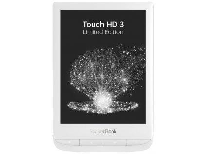 "POCKETBOOK e-book reader 632 Touch HD 3 Limited edition/ 16GB/ 6""/ Wi-Fi/ micro USB/ čeština/ Pearl White"