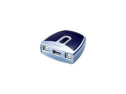ATEN USB 2.0. přepínač periferií 2:1 US-221A