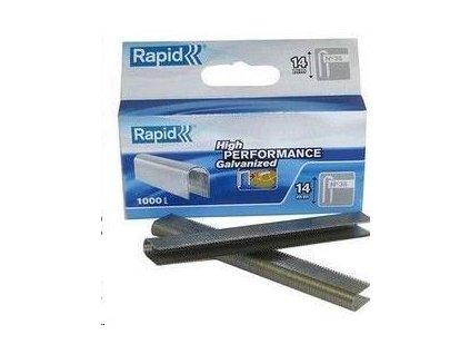 RAPID Sponkovací kleště - Rapid 36 náplň 14mm, pozink (1000 ks) (36/14K)