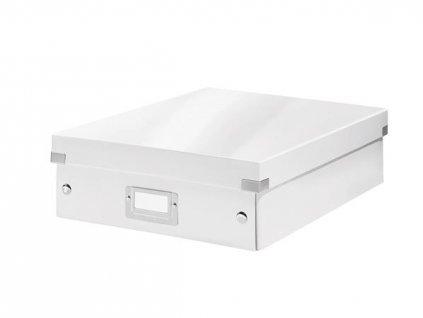 Organizační box Leitz Click&Store, velikost M, bílá