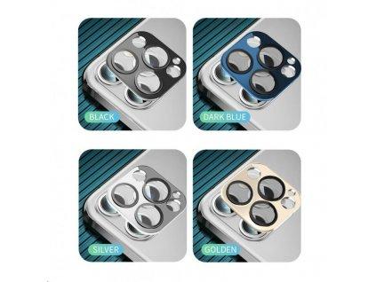 COTEetCI sklo na fotoaparát pro Apple iPhone 12 6.1'' stříbrné