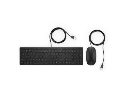 HP Pavilion Wired Combo 400 – KEYBOARD – česká