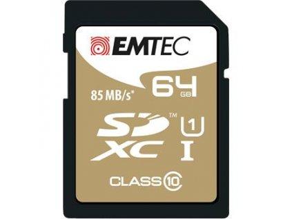 emtec sdxc 64gb gold plus class 10 i12931